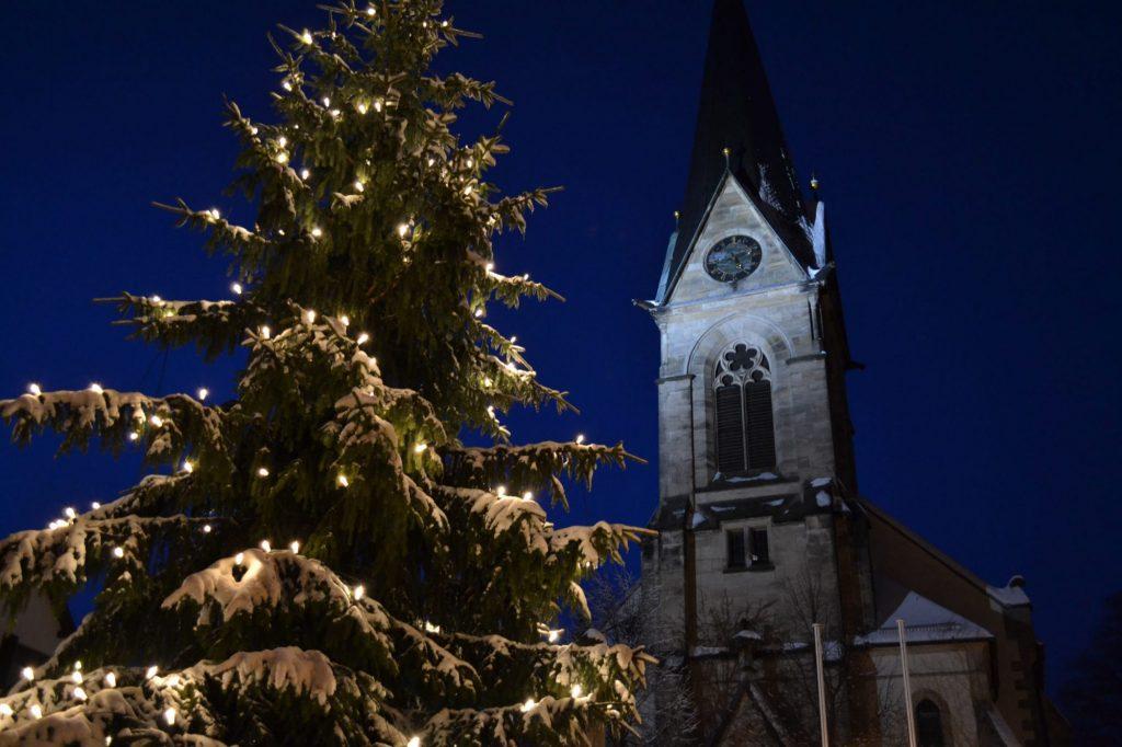 Bischofsgrün Weihnachten Kirche
