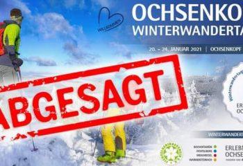 Winterwandertage abgesagt